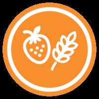 Vybrané ovoce a cereálie