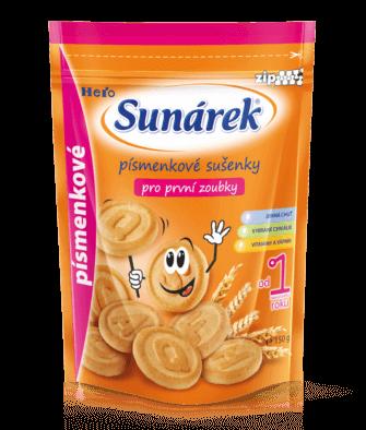 Písmenkové sušenky proprvní zoubky