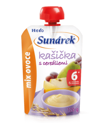 Kašička s cereáliemi mix ovoce