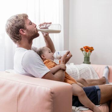 Mýtus 8: Mléčný tuk je ve všech kojeneckých mlékách