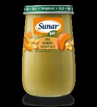 BIO dýně, brambory, olivový olej